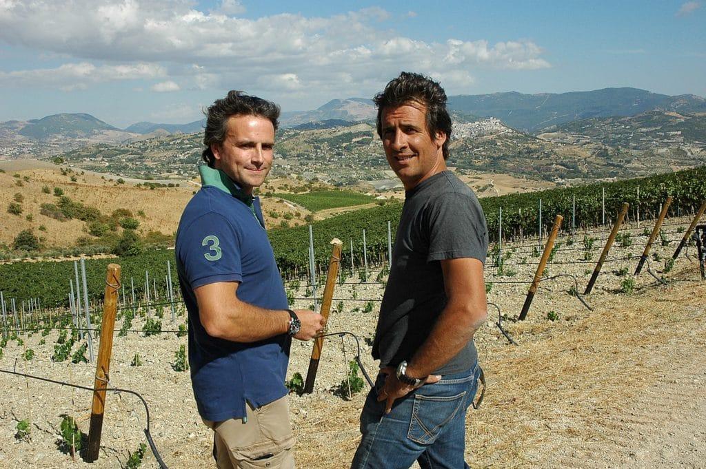 Di Giovanna verarbeitet den am höchsten angebauten Grillo Siziliens (und der Welt). In Sambuca.